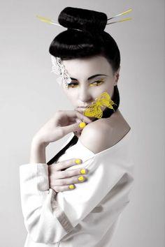 gueixa fashion editorial fantasy inspiration