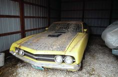 This 429 Super Cobra Jet four-speed 1970 Torino was just pulled from a shed.