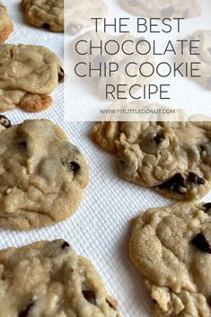 the best chocolate chip recipe The Best Chocolate Chip Recipe, Chocolate Chip Recipes, Kid Recipes, Snack Recipes, Snacks, Chip Cookie Recipe, Cookie Recipes, Kids Meals, Nutrition