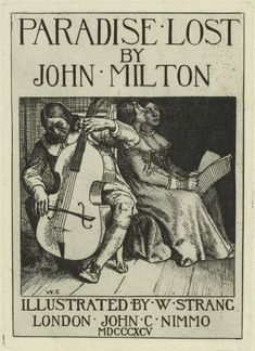 john milton essays Samuel johnson wrote numerous essays on paradise lost, and milton was included in his lives of the most eminent english john milton and the.