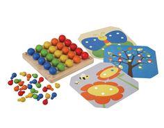 Creatief Pin Bord - Plan Toys - Houten Speelgoed, Kinder- en gezelschapsspellen, Knutselen -