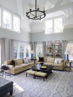 Soaring Spaces with Double-Height Ceilings
