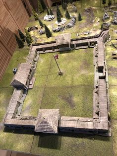 Game Terrain, 40k Terrain, Forte Apache, Seven Years' War, Medieval Houses, Old Fort, Futuristic City, Thatched Roof, American War