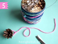 Insekthotel basteln, Mitmach-Kukuk # 21 - Honigkukuk - Lilly is Love Ecology Design, Bug Hotel, Life Lesson Quotes, Life Quotes, Textiles, Crafts To Do, Design Crafts, Free Games, Spring Time
