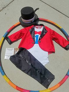 Ringmaster costume Magician costume 4 pc. by MYSWEETCHICKAPEA