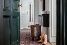Hallway with boots