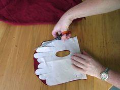 Как сшить перчатки из кожи