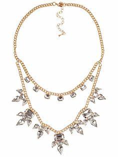 Toulouse Necklace - Nly Accessories - Gull - Smykker - Tilbehør - Kvinne - Nelly.com