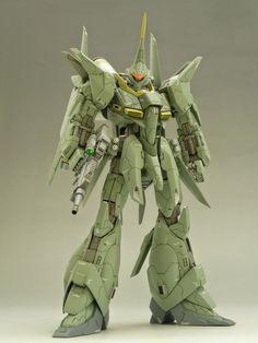 HGUC 1/144 Bawoo Custom Build - Gundam Kits Collection News and Reviews