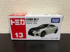 Takara Tomy Tomica Series  No.13 Lexus RC F Japan #TAKARATOMY