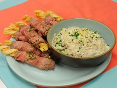 French Onion Soup Dip recipe from Geoffrey Zakarian via Food Network