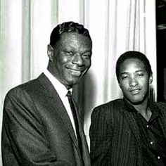 Nat King Cole and Sam Cooke Music Icon, Soul Music, Black Music Artists, Old School Music, Black History Facts, Black Celebrities, Popular Music, African American History, American Singers