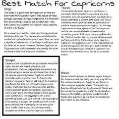 Best partner for capricorn