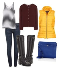 """""""рыбак inspiration"""" by on-style on Polyvore featuring мода, Weekend Max Mara, Prada, Juvia, 81hours, Barbour и Valextra"""