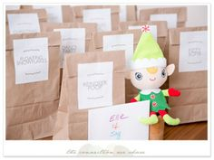 Have your elf bring fun Christmas advent activities to your kids. Printables include name tags and activity cards. Some really fun ideas! Advent Calendar For Toddlers, Advent Calendar Activities, Advent Calenders, Calendar Ideas, Christmas Crafts, Christmas Ideas, Christmas Stuff, Holiday Activities For Kids, Holiday Fun