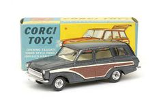 Mettoy Corgi diecast No.491 Ford Consul Cortina Super Estate Car