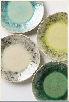 Soft-Focus Dessert Plates by Anthropologie