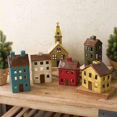 Ceramic Village   Christmas Village