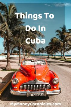 In December, I had a chance to visit Cuba. It was a very eye opening experience. Today, I want to share with you some things to do in Cuba. Places Around The World, Travel Around The World, Around The Worlds, Going To Cuba, Visit Cuba, Travel Photos, Travel Tips, Cuba Travel, Wanderlust Travel