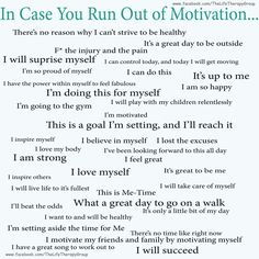 In case you run out of Motivation ~ Dr. Neal Houston, Sociologist     www.facebook.com/TheLifeTherapyGroup