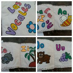 Angela Navarro: Libro de tela para infantes
