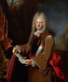 Officer Big Wig!  Portrait of an officer, 1714 - 1715, Nicolas de Largilliere