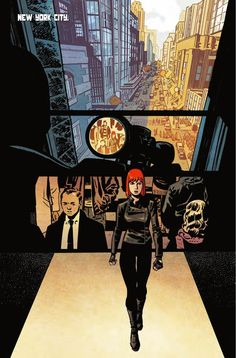 Black Widow #3, Story: Mark Waid & Chris Samnee Art: Chris Samnee Cover: Chris Samnee