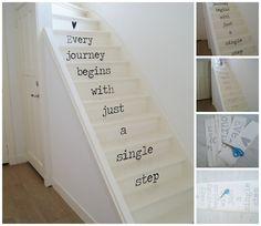 Stickers voor op de trap