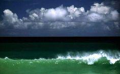 Ernst Haas.  Tobago Wave, Carribean,1968.