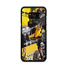 Post Malone Yellow Collage Discover Samsung Galaxy Plus Case Galaxy S8, Samsung Galaxy, S8 Plus, Post Malone, How To Know, Collage, How To Apply, Phone Cases, Yellow