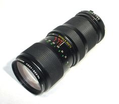 Vivitar 75-205mm F/3.8 MD Lens For Minolta Zoom Close-Up Lens via EchoDecoModern on Etsy #vintagephotography #vintagelens #minolta