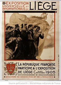 Exposition Universelle de Liege ~ Belgium