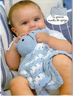 Lãs e Trapilhos - Artes com Marketing: Mantas Naninhas em crochet para bebês