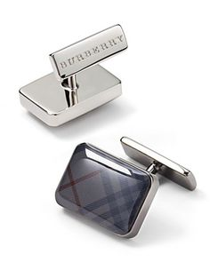 Sharp dressed Men's style / karen cox.  Burberry Cuff Links