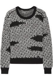 Karl Lagerfeld Mae chunky-knit sweater
