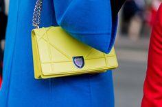 Pin for Later: Oh là là: Die besten Schuhe & Taschen der Paris Fashion Week  Tasche von Dior.