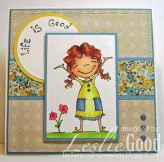 Life is Good, image Stampingbella