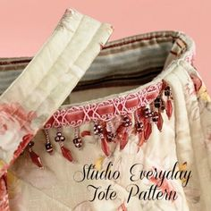 The Studio Everyday Quilted Tote - PDF Pattern | PatternPile.com