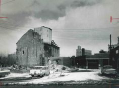 A J.P. Burroughs building in a Flint Journal file photo from 1960.