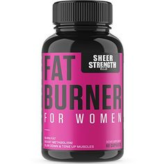Sheer Fat Burner for Women - Fat Burning Thermogenic Supplement, Metabolism Booster, and Appetite Suppressant, 60 Weight Loss Pills