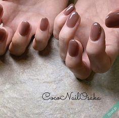 Coco Nail Osakaが投稿したネイルデザイン via Itnail Design Nail Manicure, Nail Polish, Office Nails, Coco Nails, Asian Nails, Nails Now, Nail Jewelry, Feet Nails, Minimalist Nails