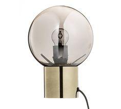 Bloomingville Bordlampe - Guld - Ø18 - Bordlampe med gullfinish