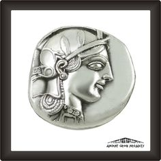 Silver Tetradrachm Coin of Athens
