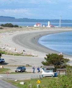 From Blue Gull Inn Bed & Breakfast | Port Townsend, Washington | BBOnline.com Overview Fort Worden Beach