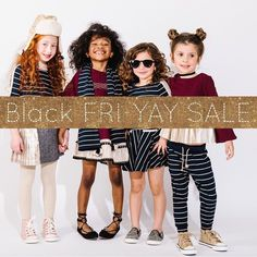 The Black FRI-YAY Sale @oaksofacorn has started! Everything 1/2 off site-wide  Score your best deals  . #80s#Retro#GlamRock#Disco #oaksofacorn #juniorstyle #blackfriday