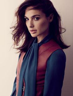 Gal Gadot in #Gucci for @fashionmagazine August 2015 | Photography by David Roemer. Styling by Zeina Esmail