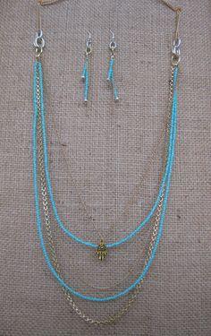 #Alchimia #necklace #earrings #diy