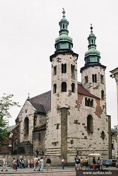 St. Andrew's Church in Cracow. It was built between 1079 - 1098.
