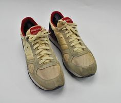 e8c5e45cdd3 Saucony Shadow Original Yellow Cream Navy Athletic Running Shoes Mens Size  12  Saucony  AthleticSneakers