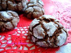 Emoção às Colheradas: Crinkles de Chocolate